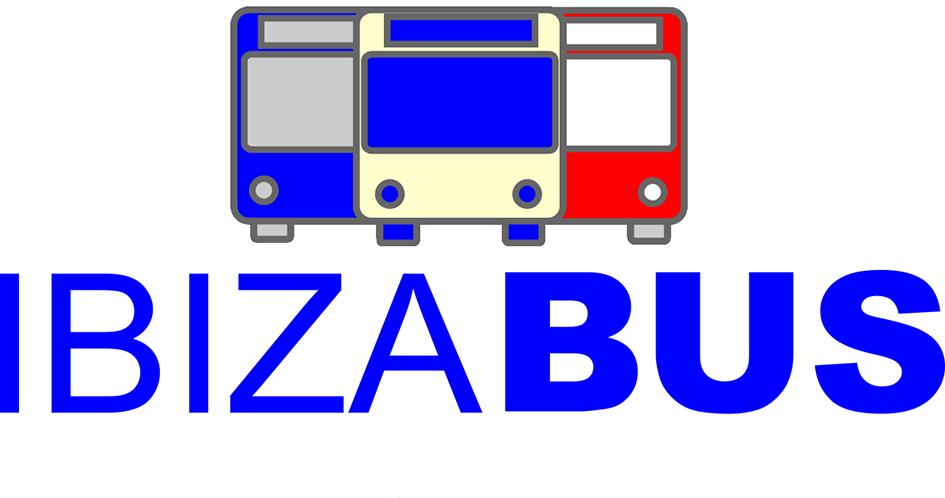 logo IBIZABUS 300 PPP red